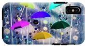 Imagination Raining Wild IPhone X Tough Case