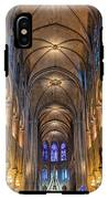 Interior Of Notre Dame De Paris IPhone X Tough Case