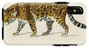 Jaguar  Panthera Onca  Illustrated By Charles Dessalines D' Orbigny  1806-1876  IPhone X Tough Case