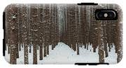 January Forest IPhone X Tough Case