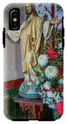 Jesus Christ With Flowers IPhone X Tough Case
