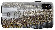 King Penguin Rookery At Salisbury IPhone X Tough Case