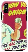 Know Your Onions IPhone X Tough Case