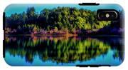 Lake Double Reflection IPhone X Tough Case