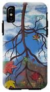 Lake Reflections - Autumn IPhone X Tough Case