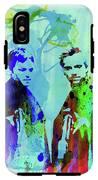 Legendary Boondock Saints Watercolor IPhone X Tough Case