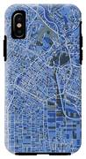 Los Angeles Map Retro 5 IPhone X Tough Case