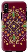 Mandala Flowering Series#2. Terracotta IPhone X Tough Case