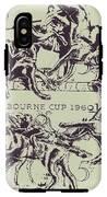 Melbourne Cup 1960 IPhone X Tough Case
