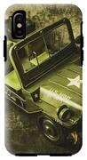 Military Green IPhone X Tough Case