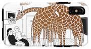More Giraffes IPhone X Tough Case