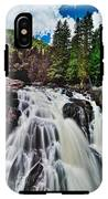 Mount Tremblant Waterfall IPhone X Tough Case