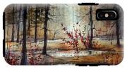 Mystic Forest IPhone X Tough Case
