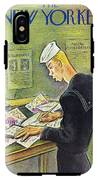 New Yorker February 14th 1942 IPhone X Tough Case