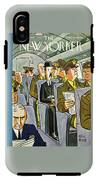 New Yorker September 18th 1943 IPhone X Tough Case