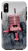 Old Farmall Farm Tractor Color Separation Nh IPhone X Tough Case