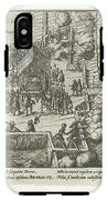 Parma Knighted In The Order Of The Golden Fleece, 1585, Anonymous, After Frans Hogenberg, 1613 - 161 IPhone X Tough Case