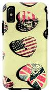Patriotic Picks IPhone X Tough Case