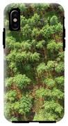 Pine Rows Aerial 2x1 IPhone X Tough Case