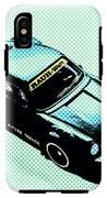 Pixel Porsche IPhone X Tough Case