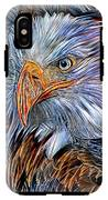 Portrait Of A Watchful Eye IPhone X Tough Case