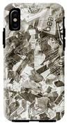 Press Print Parchment IPhone X Tough Case