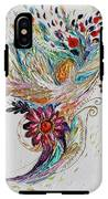 Pure Abstract #4. Trumpeting Angel IPhone X Tough Case
