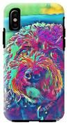 Rainbow Pup IPhone X Tough Case
