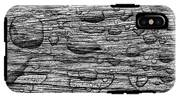 Raindrops On Wood, California, Usa IPhone X Tough Case
