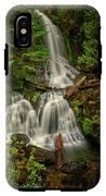 Rainier Falls Creek Falls IPhone X Tough Case
