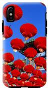 Red Lanterns Are Used As Decoration For IPhone X Tough Case