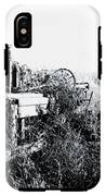 Retired John Deere Tractor 1 IPhone X Tough Case