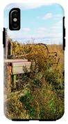 Retired John Deere Tractor 2 IPhone X Tough Case