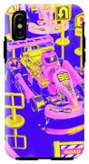 Retro Race Day IPhone X Tough Case
