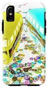 Retro Touring IPhone X Tough Case