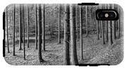 Road Passing Through Forest, Stuttgart IPhone X Tough Case