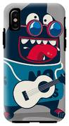 Rock Star Monster, Guitar IPhone X Tough Case