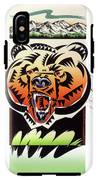 Rocky Mountain Grizzly IPhone X Tough Case