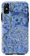 Sacramento Map Retro 5 IPhone X Tough Case