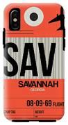 Sav Savannah Luggage Tag I IPhone X Tough Case