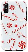 Seamless Background With Christmas IPhone X Tough Case