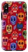 Seamless Pattern-mexican Day Of The IPhone X Tough Case