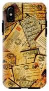 Sentimental Writings IPhone X Tough Case