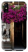 Showcase Full Of Purple Flowers In IPhone X Tough Case