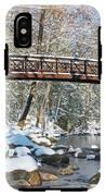 Snowy Bridge IPhone X Tough Case
