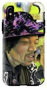 Sonic Exploration - A Jimi Hendrix Portrait IPhone X Tough Case
