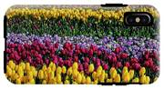 Spectacular Rows Of Colorful Tulips IPhone X Tough Case