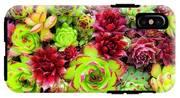 Succulent Garden IPhone X Tough Case