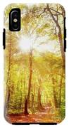 Sunbeams In The Forest IPhone X Tough Case