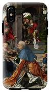 The Adoration Of The Magi With Donor  IPhone X Tough Case